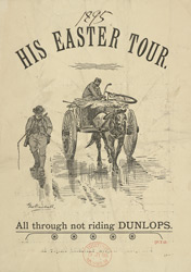 Advert For Dunlop Tyres reverse